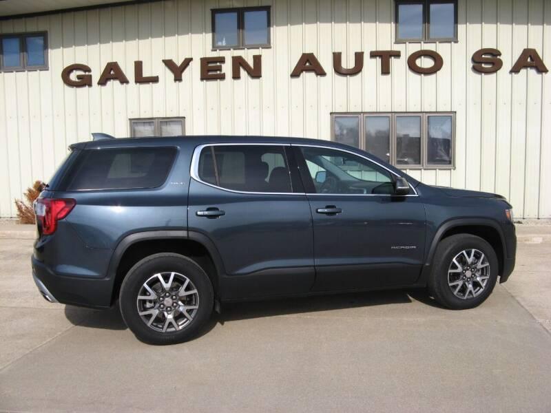 2020 GMC Acadia for sale at Galyen Auto Sales Inc. in Atkinson NE