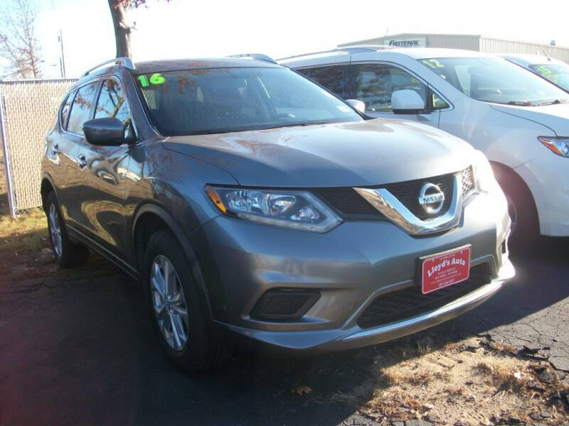 2016 Nissan Rogue for sale at Lloyds Auto Sales & SVC in Sanford ME