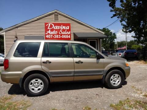 2005 Honda Pilot for sale at DAVINA AUTO SALES in Orlando FL