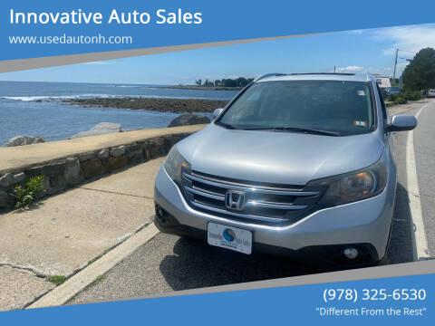 2012 Honda CR-V for sale at Innovative Auto Sales in North Hampton NH
