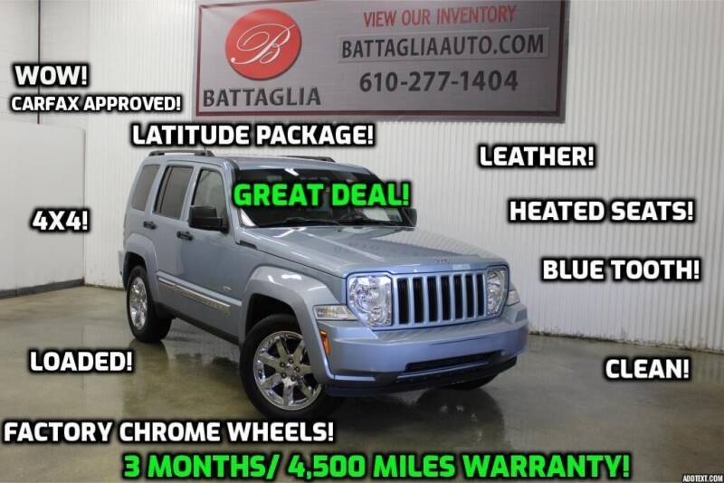 2012 Jeep Liberty for sale at Battaglia Auto Sales in Plymouth Meeting PA