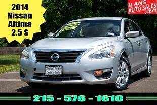 2014 Nissan Altima for sale at Ilan's Auto Sales in Glenside PA
