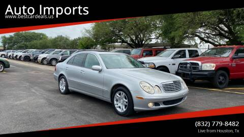 2006 Mercedes-Benz E-Class for sale at Auto Imports in Houston TX