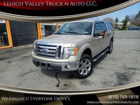 2010 Ford F-150 for sale at Lehigh Valley Truck n Auto LLC. in Schnecksville PA