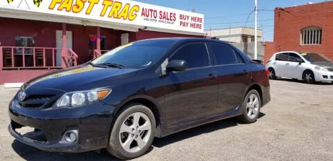 2011 Toyota Corolla for sale at Fast Trac Auto Sales in Phoenix AZ