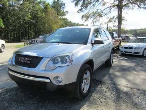 2012 GMC Acadia for sale at Bullet Motors Charleston Area in Summerville SC