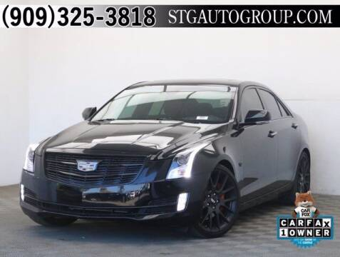 2018 Cadillac ATS for sale at STG Auto Group in Montclair CA