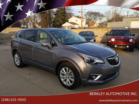 2019 Buick Envision for sale at Berkley Automotive Inc. in Berkley MI