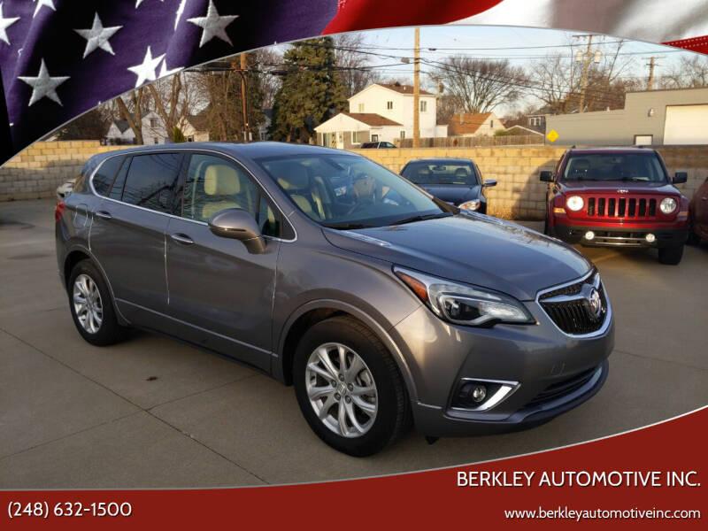 2019 Buick Envision for sale at Berkley Automotive Inc. in Berkley MI