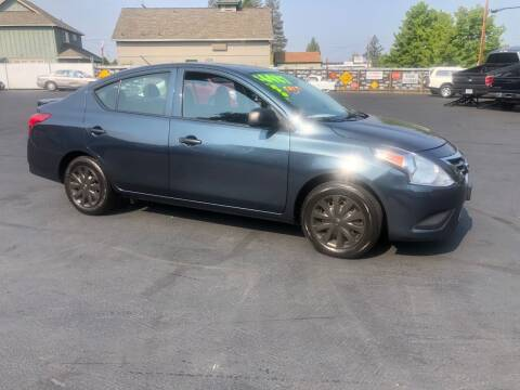 2015 Nissan Versa for sale at 3 BOYS CLASSIC TOWING and Auto Sales in Grants Pass OR