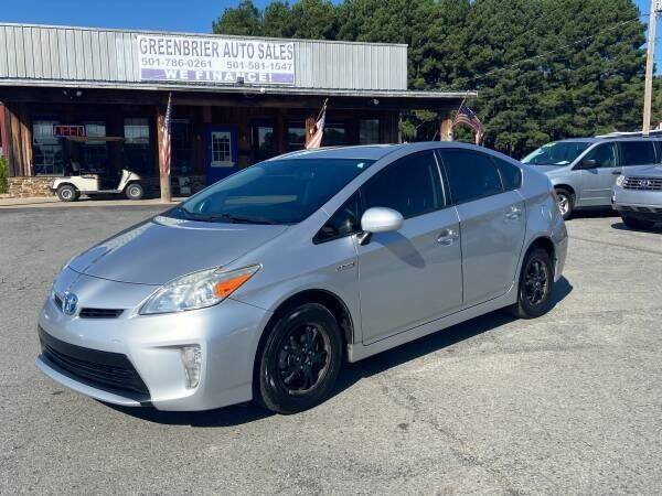 2012 Toyota Prius for sale at Greenbrier Auto Sales in Greenbrier AR