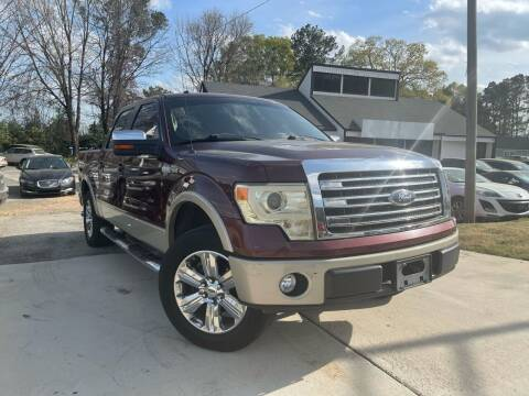 2009 Ford F-150 for sale at Alpha Car Land LLC in Snellville GA