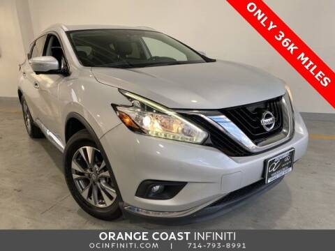 2015 Nissan Murano for sale at ORANGE COAST CARS in Westminster CA
