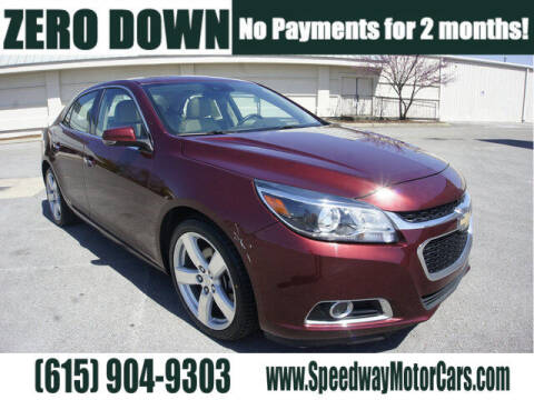 2015 Chevrolet Malibu for sale at Speedway Motors in Murfreesboro TN