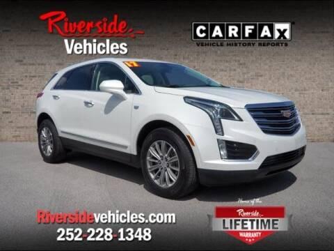 2017 Cadillac XT5 for sale at Riverside Mitsubishi(New Bern Auto Mart) in New Bern NC