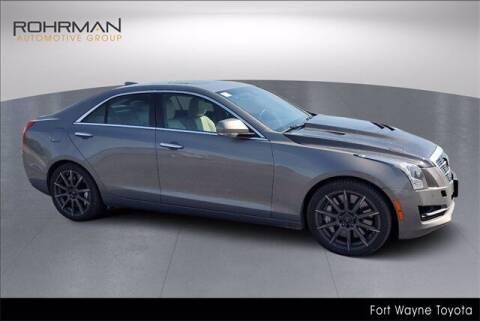 2017 Cadillac ATS for sale at BOB ROHRMAN FORT WAYNE TOYOTA in Fort Wayne IN