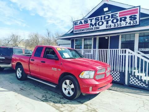 2014 RAM Ram Pickup 1500 for sale at EASTSIDE MOTORS in Tulsa OK