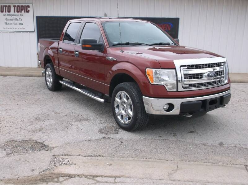 2014 Ford F-150 for sale at AUTO TOPIC in Gainesville TX