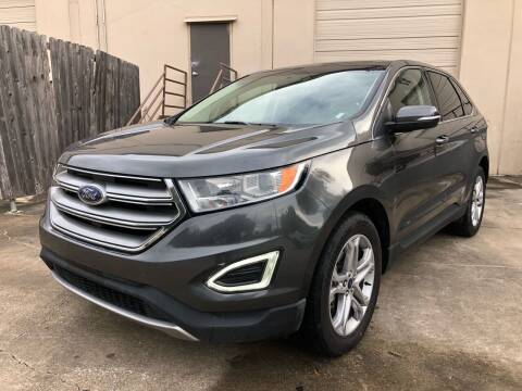 2018 Ford Edge for sale at The Auto & Marine Gallery of Houston in Houston TX