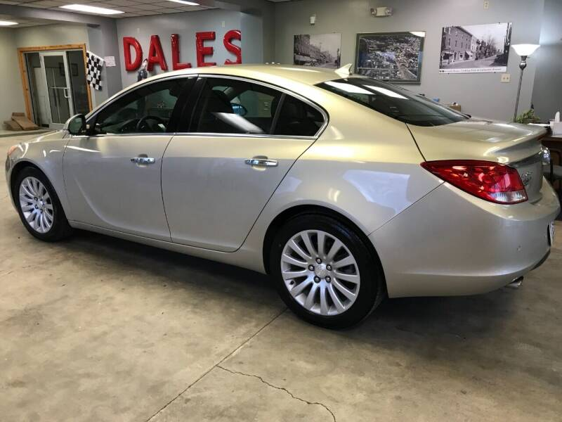 2013 Buick Regal for sale at DALE'S PREOWNED AUTO SALES INC in Moundsville WV