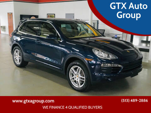 2014 Porsche Cayenne for sale at GTX Auto Group in West Chester OH