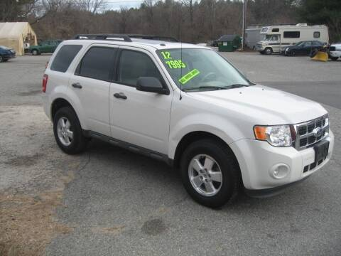 2012 Ford Escape for sale at Joks Auto Sales & SVC INC in Hudson NH