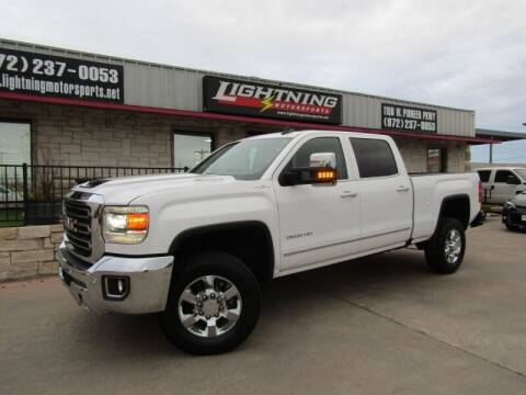 2019 GMC Sierra 2500HD for sale at Lightning Motorsports in Grand Prairie TX