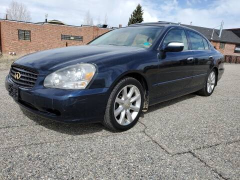 2002 Infiniti Q45 for sale at HIGH COUNTRY MOTORS in Granby CO