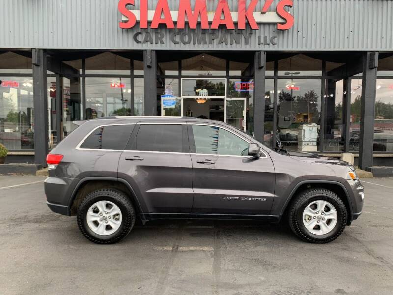 2017 Jeep Grand Cherokee for sale at Siamak's Car Company llc in Salem OR