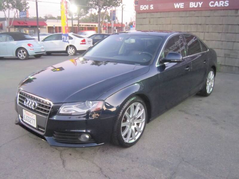 2009 Audi A4 for sale at SPRINGFIELD BROTHERS LLC in Fullerton CA