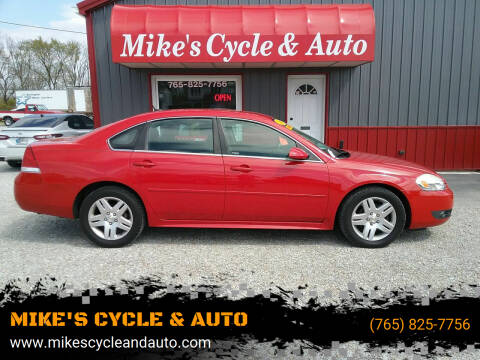2011 Chevrolet Impala for sale at MIKE'S CYCLE & AUTO in Connersville IN