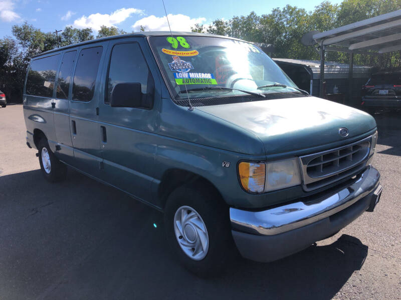 1998 Ford E-150 for sale at Freeborn Motors in Lafayette OR