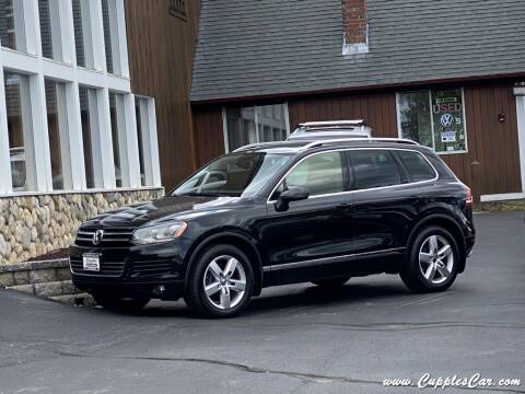 2013 Volkswagen Touareg for sale at Cupples Car Company in Belmont NH
