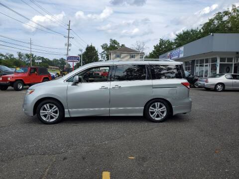 2013 Nissan Quest for sale at CANDOR INC in Toms River NJ