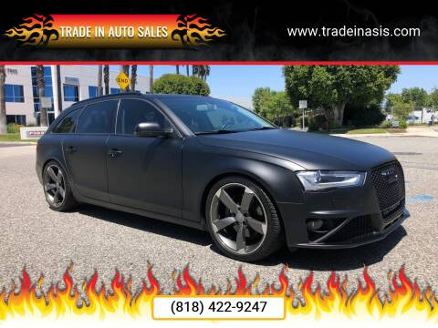 2010 Audi A4 for sale at Trade In Auto Sales in Van Nuys CA