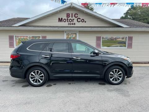 2017 Hyundai Santa Fe for sale at Bic Motors in Jackson MO