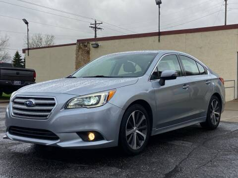 2015 Subaru Legacy for sale at North Imports LLC in Burnsville MN