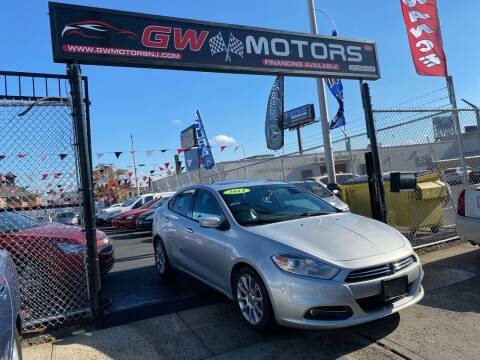 2013 Dodge Dart for sale at GW MOTORS in Newark NJ