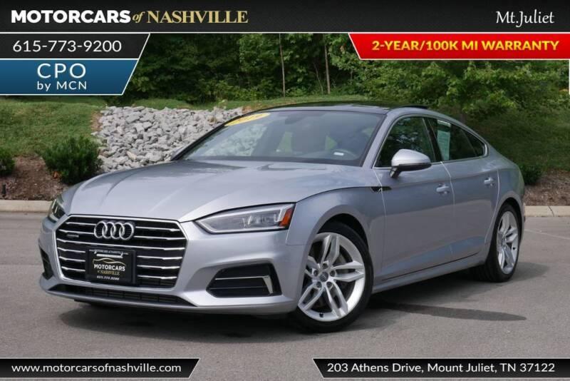 2019 Audi A5 Sportback for sale at MotorCars of Nashville in Mount Juliet TN