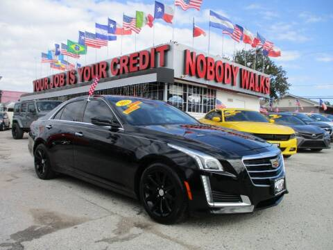 2015 Cadillac CTS for sale at Giant Auto Mart 2 in Houston TX