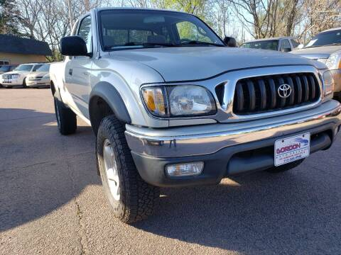 2002 Toyota Tacoma for sale at Gordon Auto Sales LLC in Sioux City IA