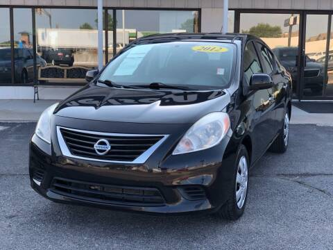 2012 Nissan Versa for sale at Nelson Car Country in Bixby OK