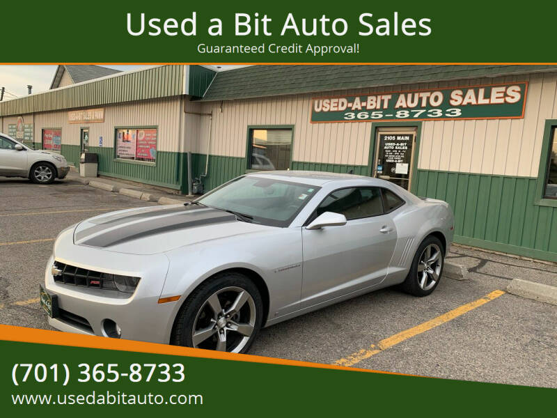 2010 Chevrolet Camaro for sale at Used a Bit Auto Sales in Fargo ND