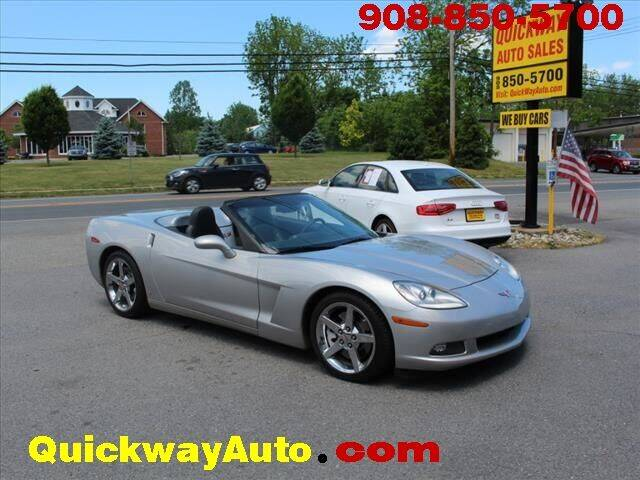 2008 Chevrolet Corvette for sale at Quickway Auto Sales in Hackettstown NJ