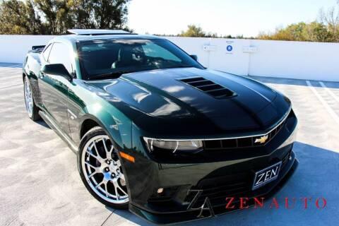 2015 Chevrolet Camaro for sale at Zen Auto Sales in Sacramento CA
