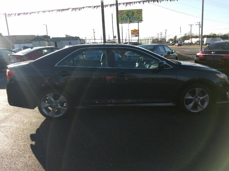 2014 Toyota Camry for sale at Kenny's Auto Sales Inc. in Lowell NC
