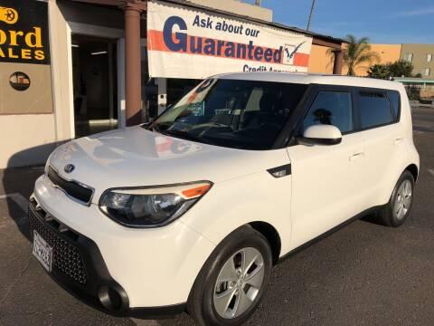 2014 Kia Soul for sale at Concord Auto Sales in El Cajon CA
