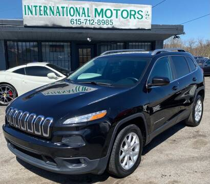 2014 Jeep Cherokee for sale at International Motors Inc. in Nashville TN