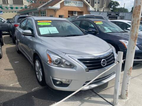 2015 Nissan Altima for sale at Park Avenue Auto Lot Inc in Linden NJ