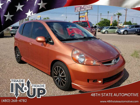 2007 Honda Fit for sale at 48TH STATE AUTOMOTIVE in Mesa AZ